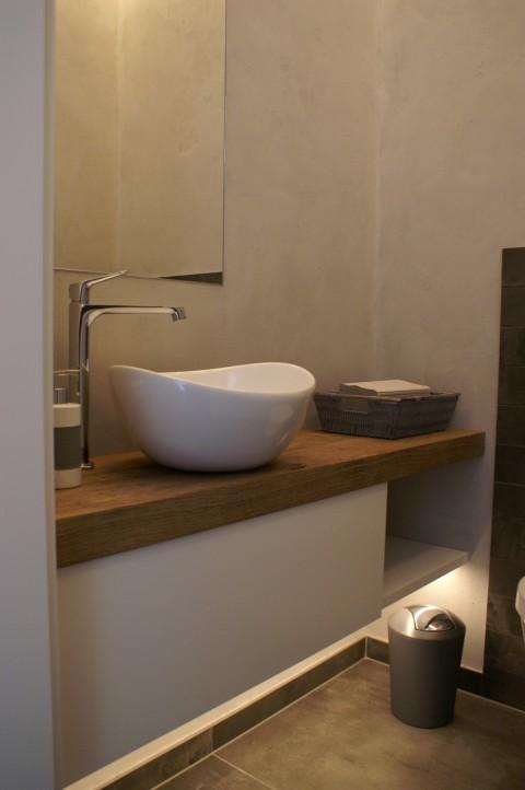 Ansicht - Waschtisch Gäste-WC