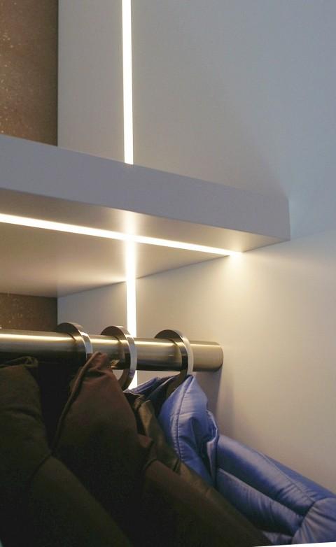 Detail - Garderobe - Kleiderstange